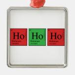 Química do Natal Ornamento Para Arvores De Natal