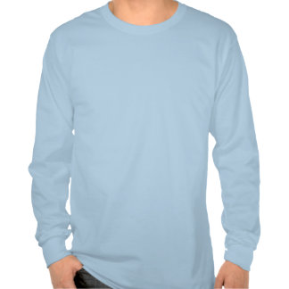 Química engraçada azul do robô dos desenhos t-shirt