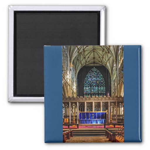 Quire da igreja de York Imãs De Geladeira