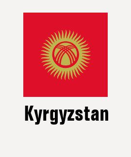 Quirguistão T-shirt