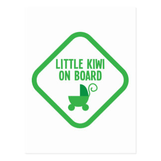QUIVI pequeno a bordo de Nova Zelândia Cartão Postal