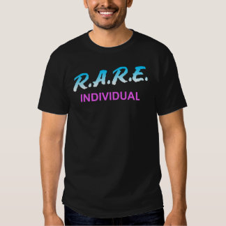 R.A.R.E. INDIVIDUAL CAMISETA
