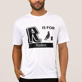 R é para o rodeio t-shirt