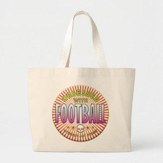 R obcecado futebol bolsa de lona