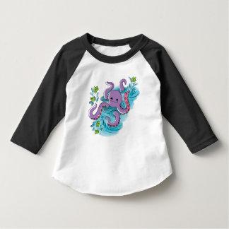 Ra máximo da luva da criança 3/4 do camisetas