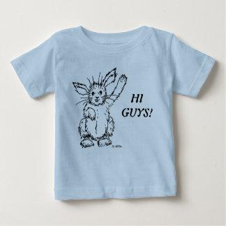 Rabbit Camiseta Para Bebê