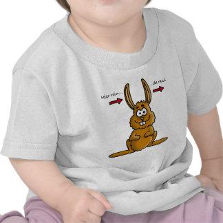 Rabbit input output t-shirts