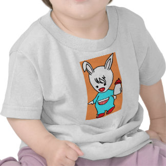 Rabbit jpg ocupado t-shirts
