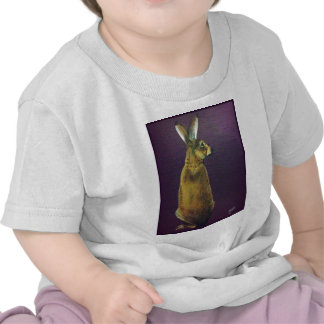 Rabbit jpg roxo t-shirt