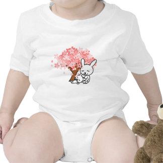 rabbits macacãozinho para bebê