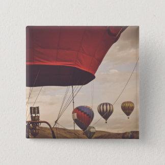 Raça do balão de ar quente de Reno Bóton Quadrado 5.08cm