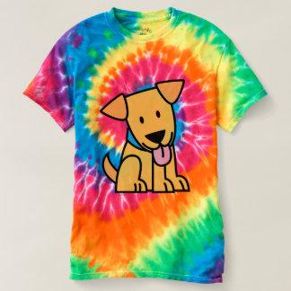 Raça do cão de filhote de cachorro de labrador camiseta