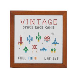 Raça do espaço do vintage