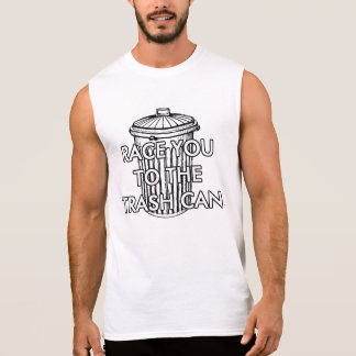 raça do lixo camisas sem mangas