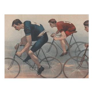 Raça SUPERIOR da bicicleta Cartão Postal