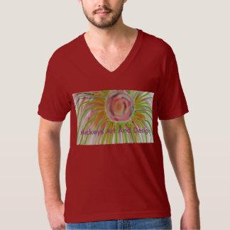 Radial da flor camiseta