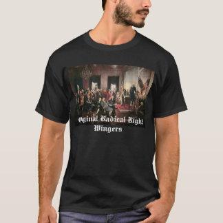 Radicais originais do direita camiseta