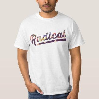 Radical floral camiseta