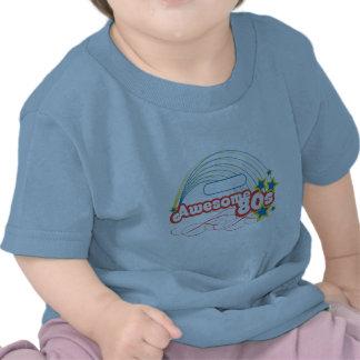 Rádio de AOL - anos 80 impressionante Tshirt