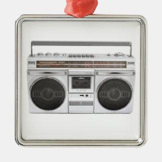 Rádio de Boombox da velha escola Enfeite De Natal