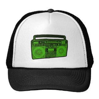 rádio do dinamitador do gueto do boombox boné
