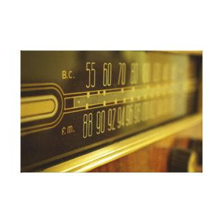Rádio do vintage - o fulgor