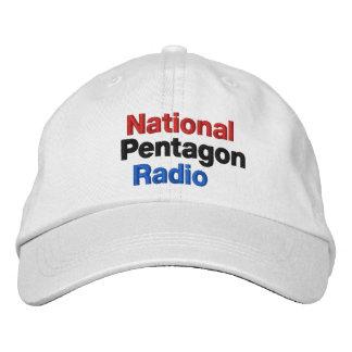 Rádio nacional do Pentágono Boné Bordado