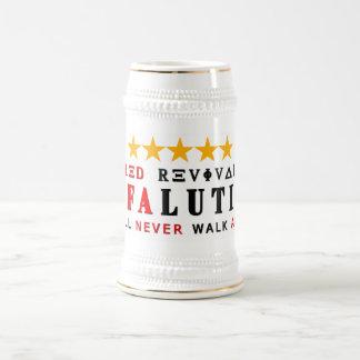 RAFALUTION - REVI VERMELHO de cinco estrelas Caneca De Cerveja