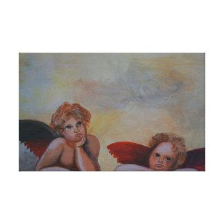 Raffaels anjo impressão em tela