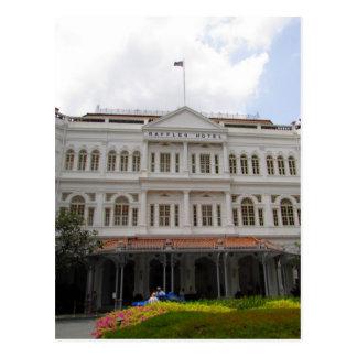 raffles o hotel de singapore cartões postais