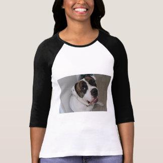 Raglan à mangas 3/4 a personalizarem camiseta