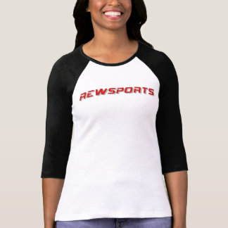 Raglan das senhoras de Rewsports Tshirts