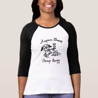 Raglan das senhoras camiseta