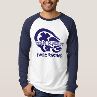 Raglan de Prix do pedal de LWLC T-shirts