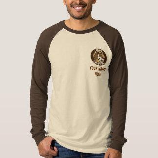 Raglan de TLW Tan Camisetas