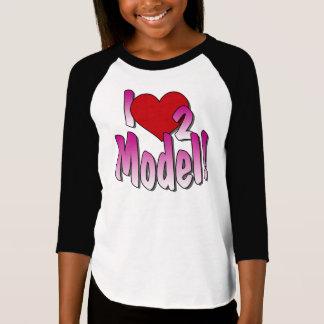 Raglan dos modelos tshirts