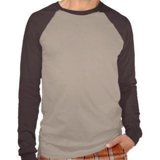 Raglan longo básico da luva t-shirts