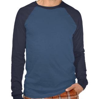 Raglan longo básico da luva de Kline, luz - T-shirt