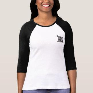Raglan T do almofariz e do pilão Camisetas
