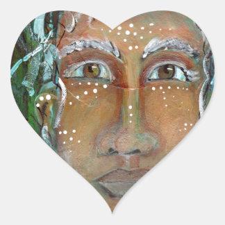 Ragnhailt feminino divino adesivo coração