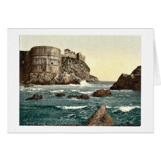 Ragusa, o fortification, Dalmácia, Austro-Hungar Cartões