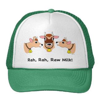 Rah, Rah, leite cru! Boné