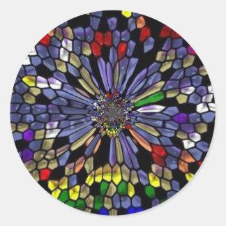 rainbowstainedglass adesivo