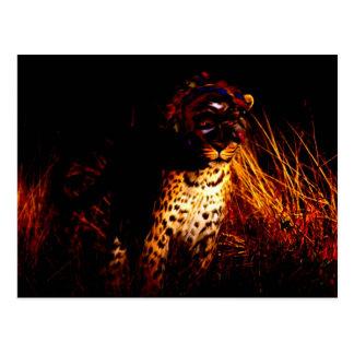 """""""Rainha africana produtos da noite"""" Cartão Postal"""