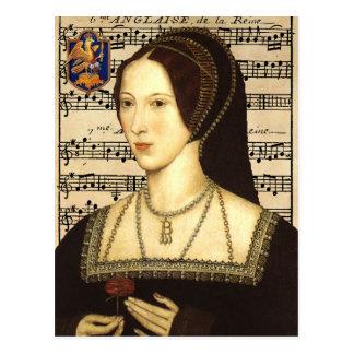 Rainha Anne Boleyn - cartão do retrato