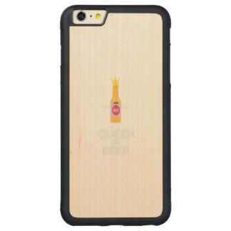 Rainha da cerveja Zh80k Capa Bumper Para iPhone 6 Plus De Bordo, Carved