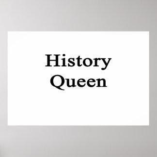 Rainha da história poster