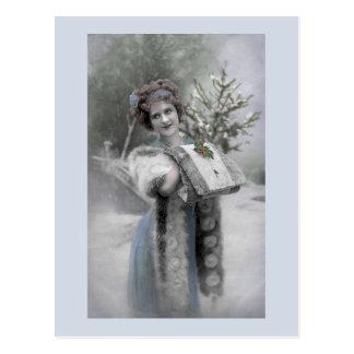 Rainha da neve - cartão