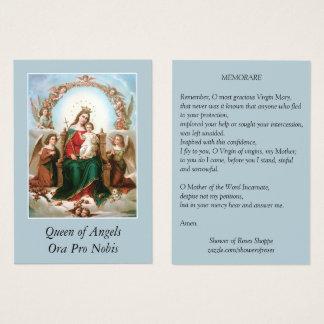 Rainha de Mary de cartões santamente da oração de