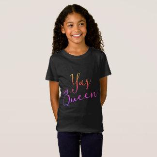 Rainha de Yas!  Camisa de Childs T da coroa